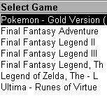 MeBoy - Pokemon - Final Fantasy - Zelda - Ultima